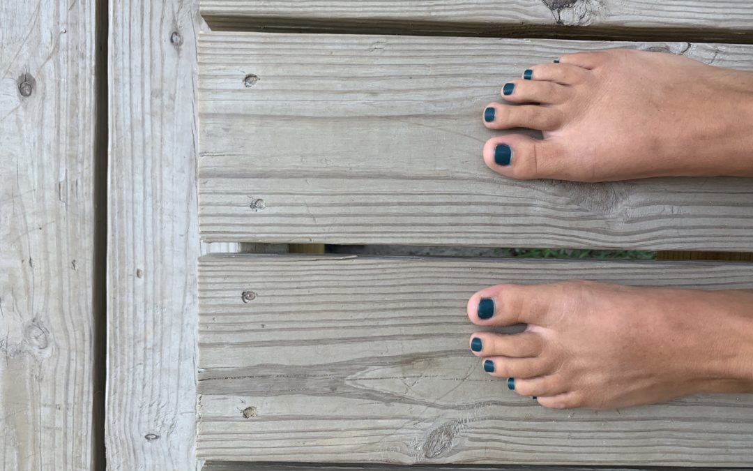 Treat Yourself at Beach Feet Nails